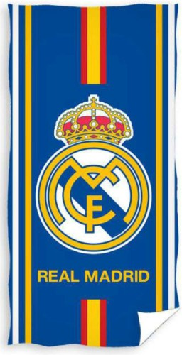 Badlaken Real Madrid stripe: 70x140 cm (002RM-BT)