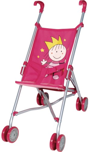 Poppen Buggy Prinses Bayer: roze (30182AA)