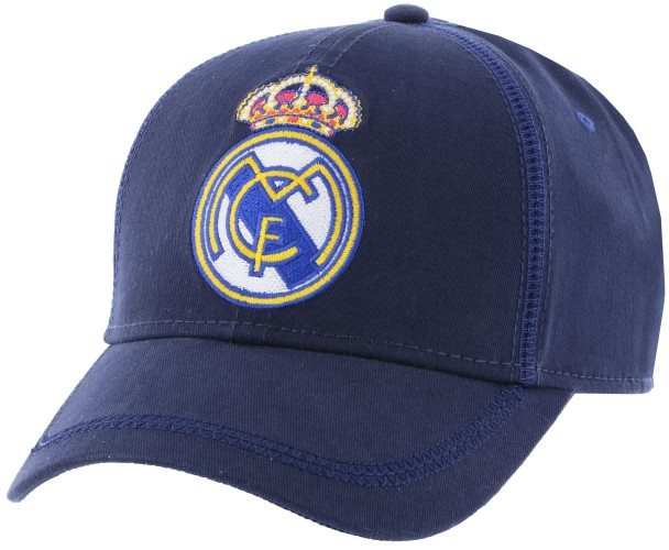 Cap real madrid senior blauw (RM3GO2)