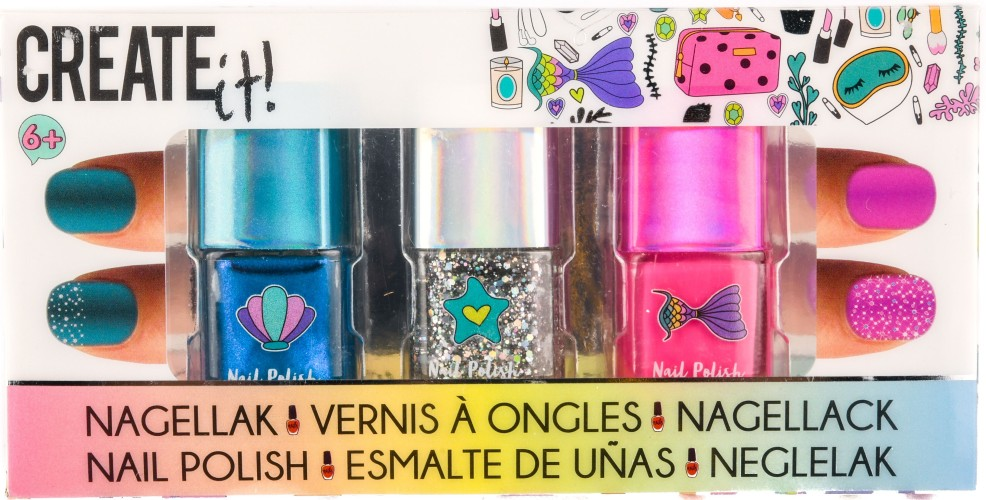 Nagellak Create It: 3 stuks (84134)
