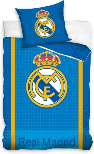Dekbed real madrid blocks (RM9001): 140x200/70x80 cm