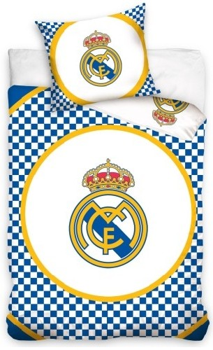Dekbed Real Madrid checkers (RM8023): 140x200/70x80 cm