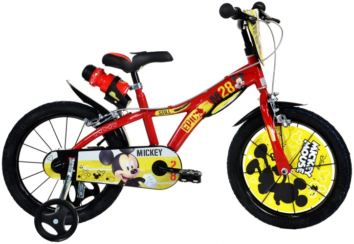 Kinderfiets Dino Bikes Mickey Mouse: 16 inch (616L-MY)
