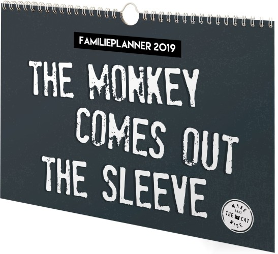 Familieplanner Make That The Cat Wise 2019 (10660)