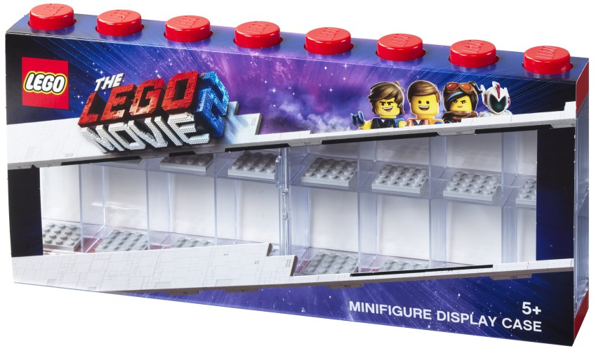 Opbergbox Lego Movie 2: minifigs rood 16-delig (RC031824)