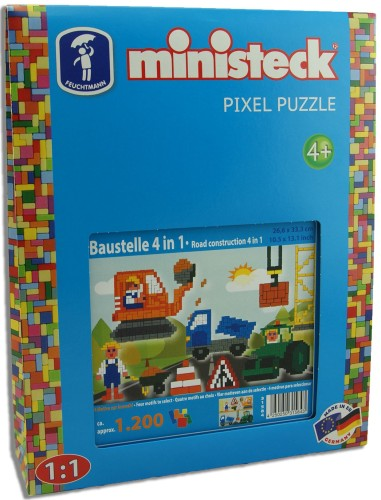 Bouwplaats Ministeck XL 4-in-1: 1200-delig (31584)