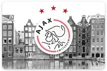 Placemat Ajax grachten en logo