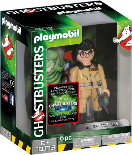 E. Spengler Ghostbusters Playmobil (70173)