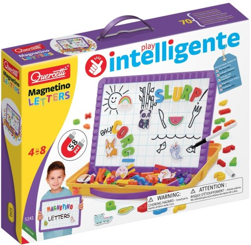 Magneetbord Quercetti letters: 65-delig (5241)
