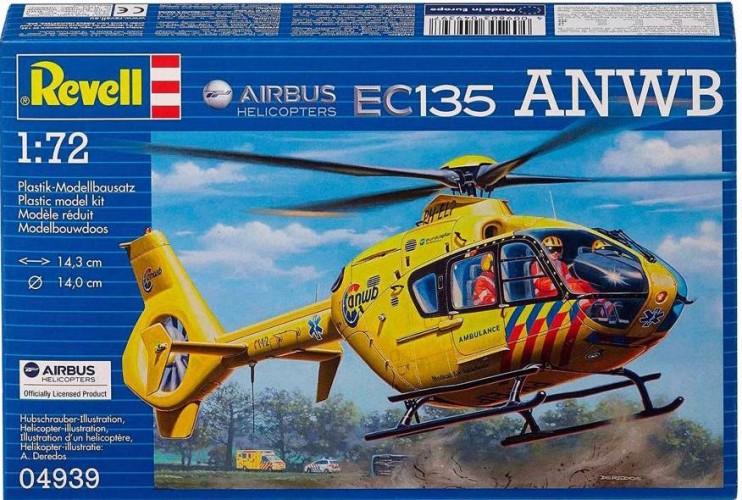 Airbus Helikopters EC135 ANWB Revell: schaal 1:72 (4939)