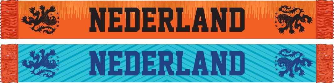 Sjaal holland rood/wit/blauw KNVB (106878)