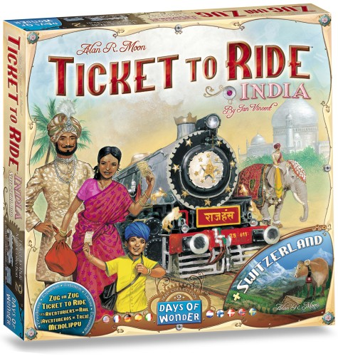 Ticket to Ride: India (DOW720114)