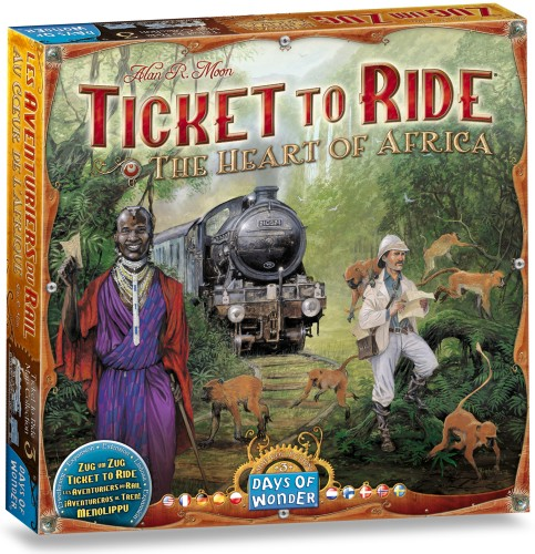 Ticket to Ride: Africa (DOW720117)