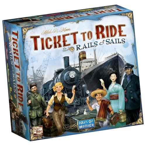 Ticket to Ride: Rails & Sails (DOW720526)