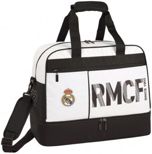 Sporttas Real Madrid wit: 48x38x27 cm (711854679)