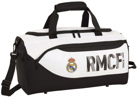 Sporttas Real Madrid wit: 50x25x28 cm (711854553)