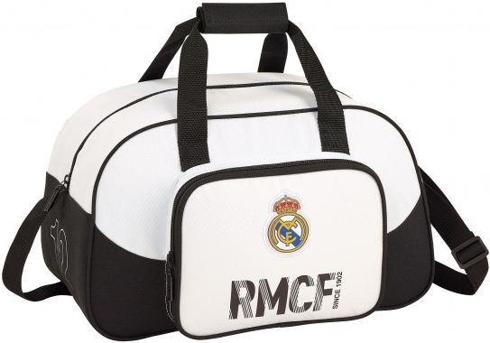 Sporttas Real Madrid wit: 40x25x23 cm (711854273)