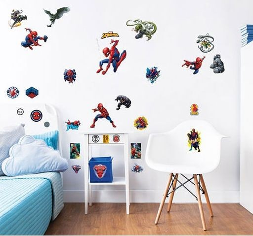 Muursticker Spider-Man Walltastic: 31 stickers (44746)