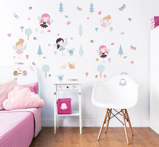 Muursticker Woodland bos Walltastic: 64 stickers (44944)