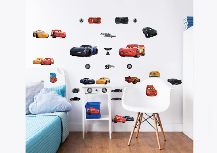Muursticker Cars Walltastic: 32 stickers (45576)