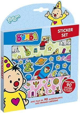 Sticker set Bumba ToTum: 90+ stickers (27220652) - in Stickers & Tapes