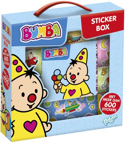 Sticker box Bumba ToTum: 1000+ stickers (27220669) - in Stickers & Tapes