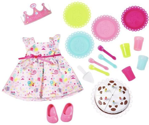 Party Set Deluxe Baby Born (825242)