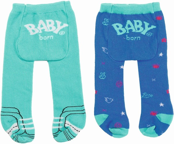 Maillot Trend Baby Born 2-pack: blauw/groen (868235/827000)