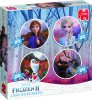 Puzzel-Frozen-2-rond:-4-in-1-19746