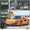 Model-Set-McLaren-570S-Revell:-schaal-1:24-67051